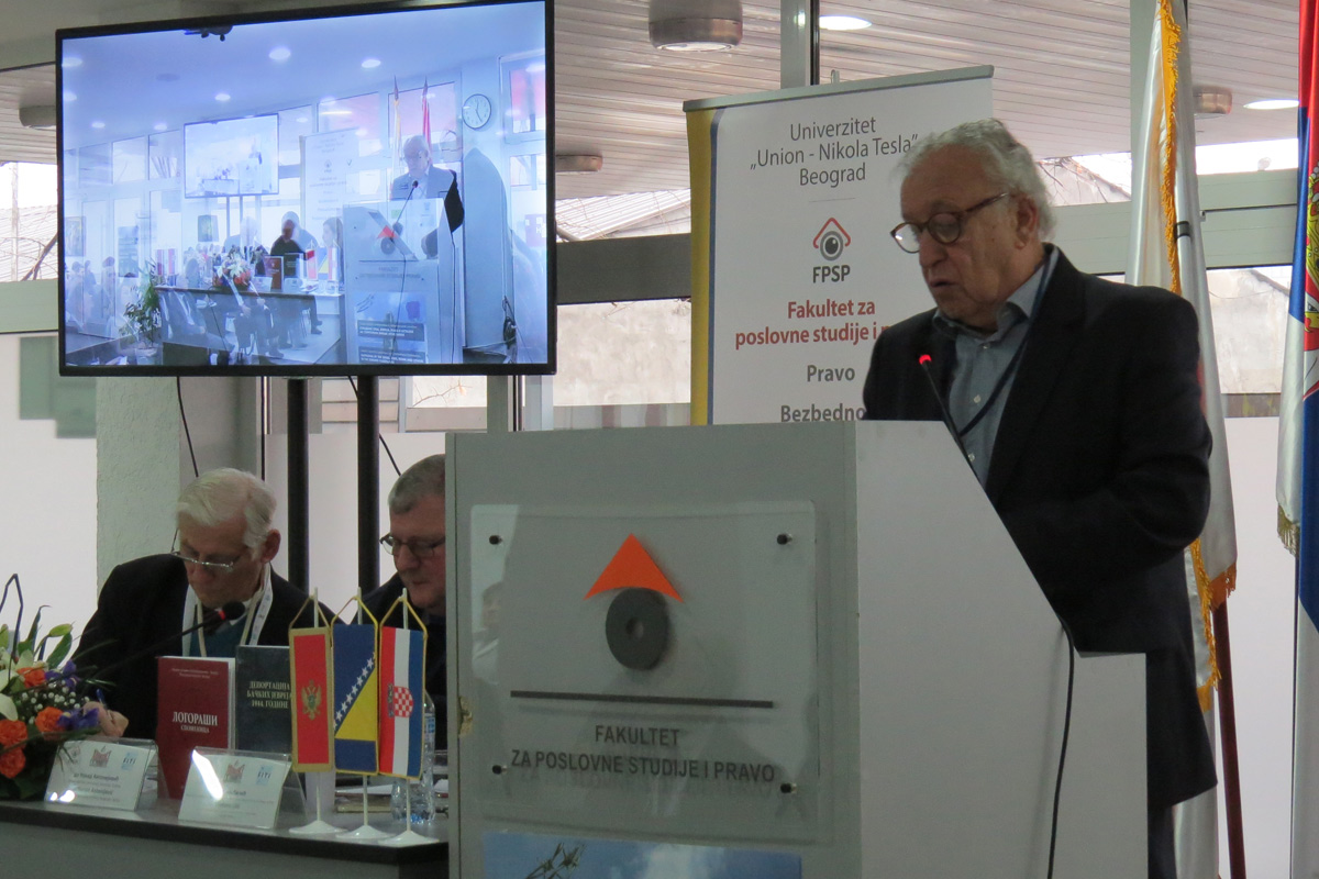 THE DEPORTATION OF THE JEWS OF BAČKA BOOK GETS PRESENTED AT THE SCIENTIFIC CONFERENCE ''THE SUFFERING OF SERBS, JEWS, ROMA AND OTHERS ON THE TERRITORY OF THE FORMER YUGOSLAVIA''
