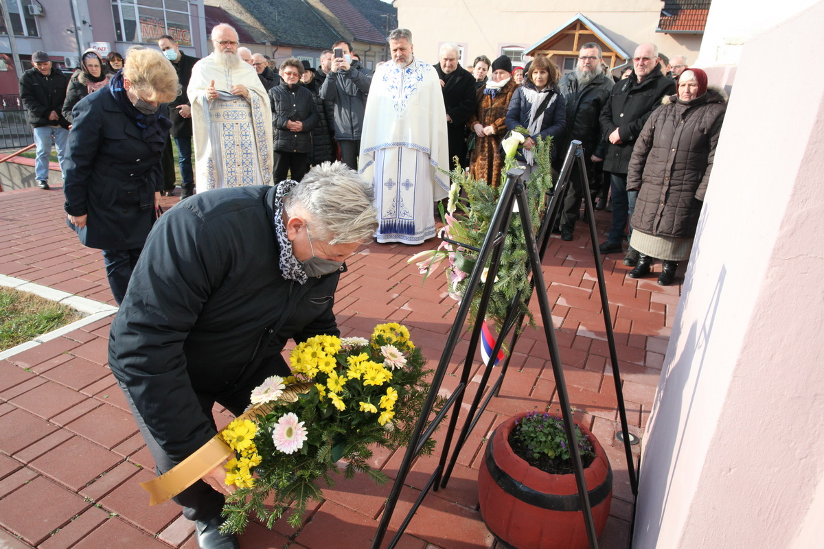 Memorial Service for Victims of the Raid in Titel