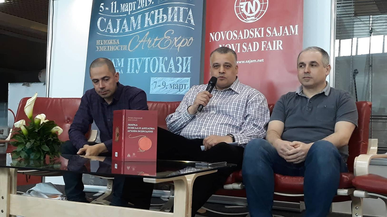 The Publishing Activities of the Archives of Vojvodina Presented at the International Book Fair in Novi Sad