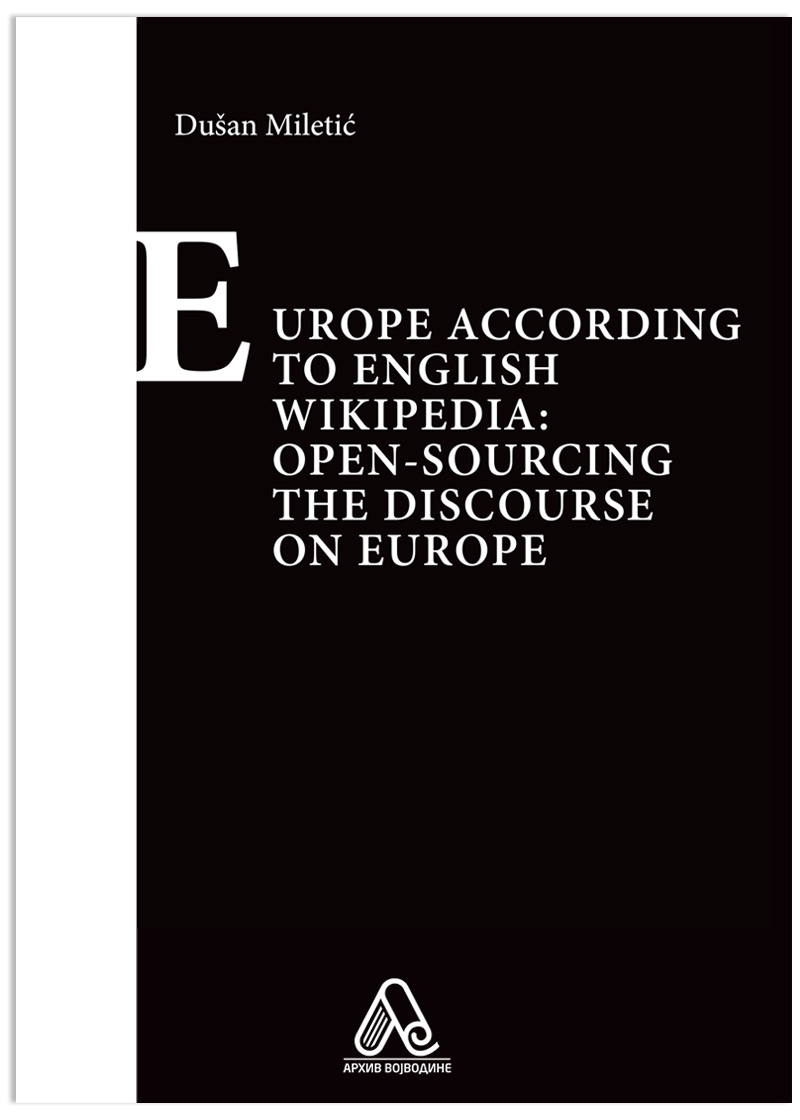Europe According to English Wikipedia: Open-sourcing the Discourse on Europe